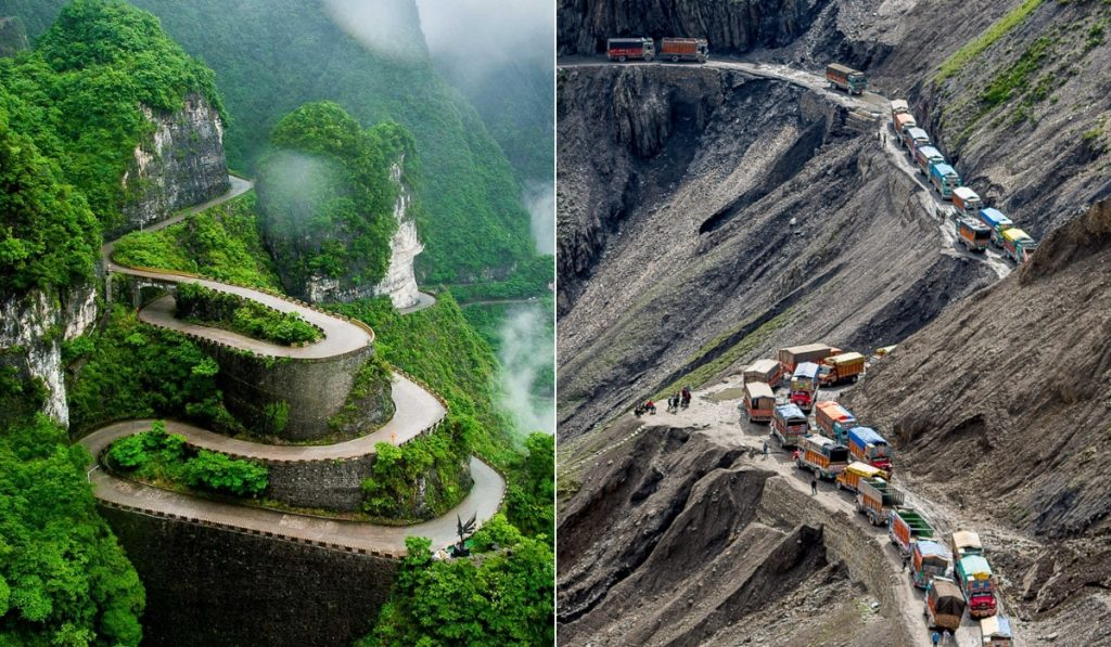 The World S Scariest And Most Dangerous Roads Journeyranger Journeyranger
