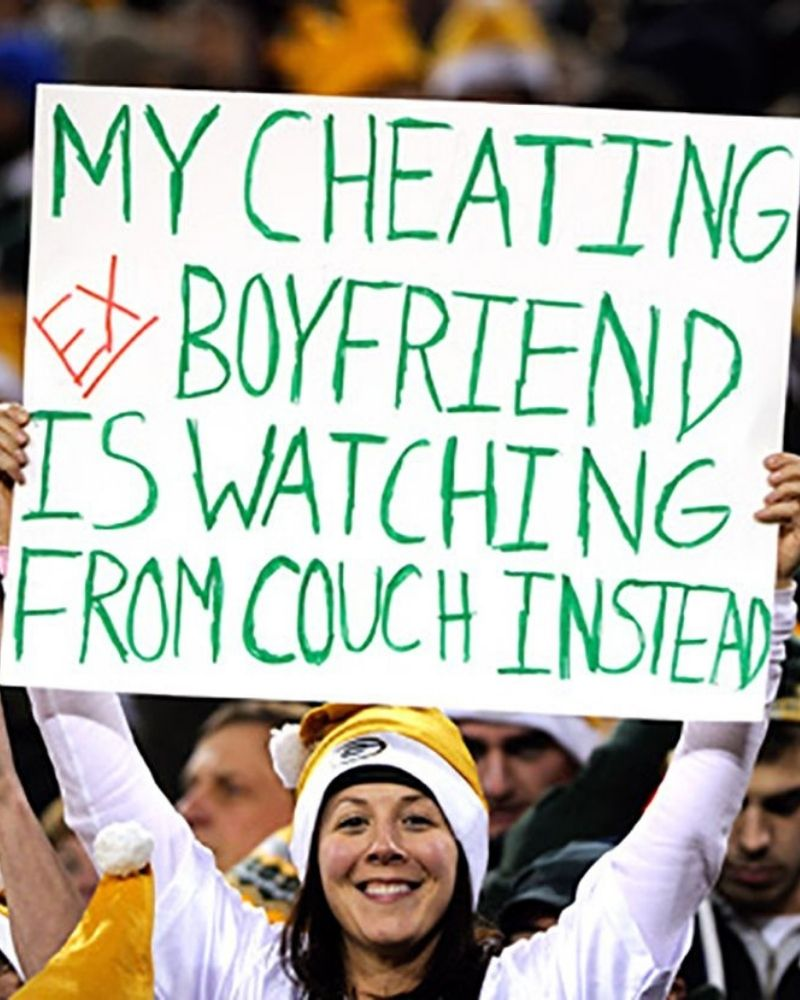An NFL sign breakup is one way to drive the point home