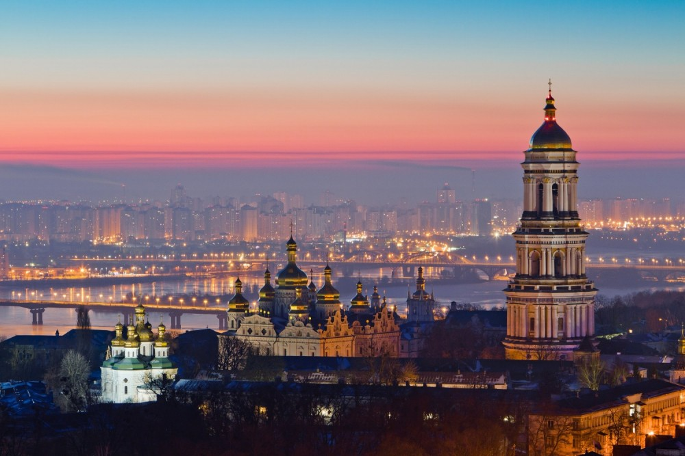 Kyiv in Ukraine is one of the cheapest options for a city break