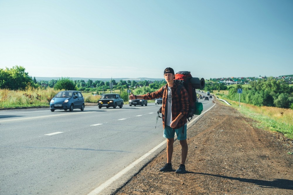A tourist saw their life flash before their eyes when traveling as a hitchhiker