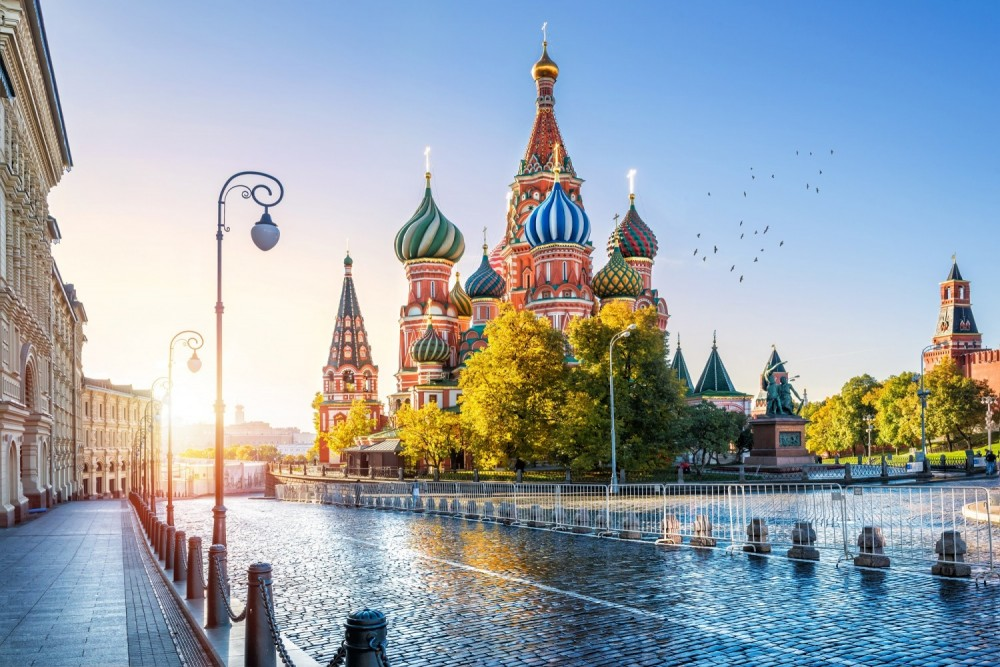 Moscow in Russia is one of the most affordable city breaks