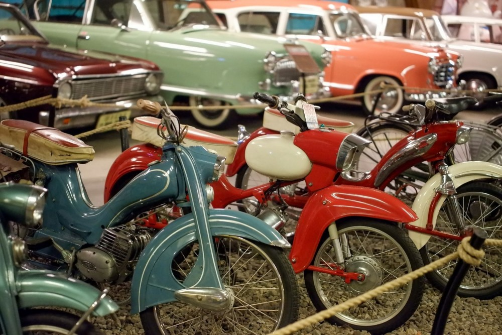 A quality meats and motorcycle museum didn't disappoint a pair of tourists