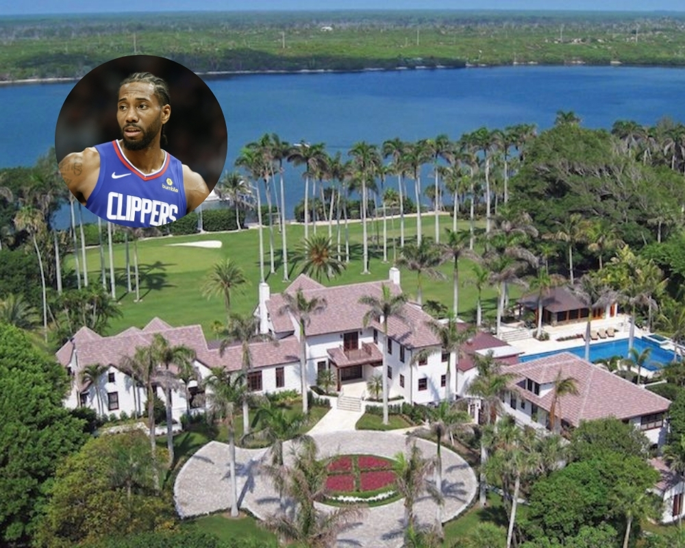 Kawhi Leonard recently invested in a San Diego mansion