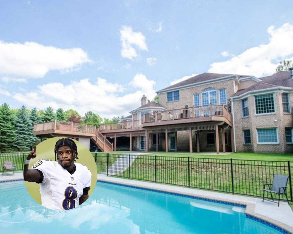 Lamar Jackson wanted to make his mansion his first NFL purchase
