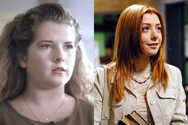 Riff Regan played Willow in the pilot of Buffy The Vampire Slayer