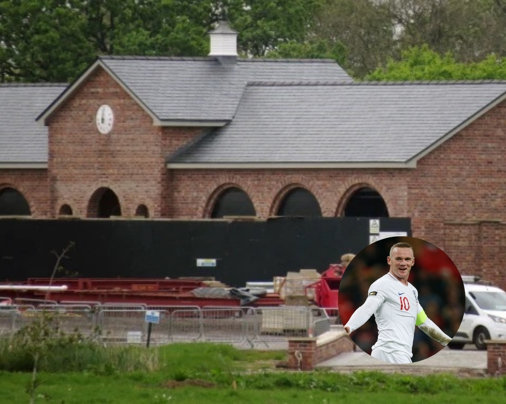 Wayne Rooney has spent millions of dollars building a new home