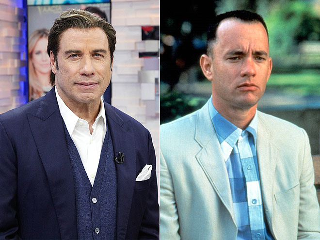 John Travolta was supposed to be the face of Forrest Gump