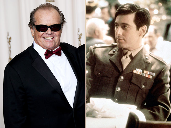 Jack Nicholson rejected the part of Michael in The Godfather