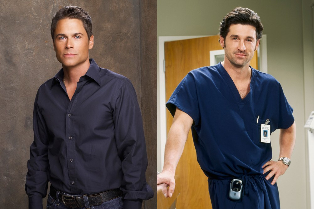 Rob Lowe almost played McDreamy in Grey's Anatomy before he turned down the part