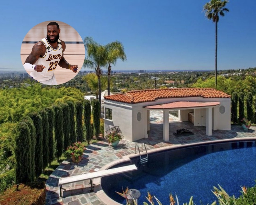 LeBron James recently purchased his third Los Angeles home for $39 million