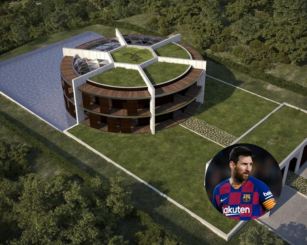 Lionel Messi has crafted one of the most unique looking eco-homes