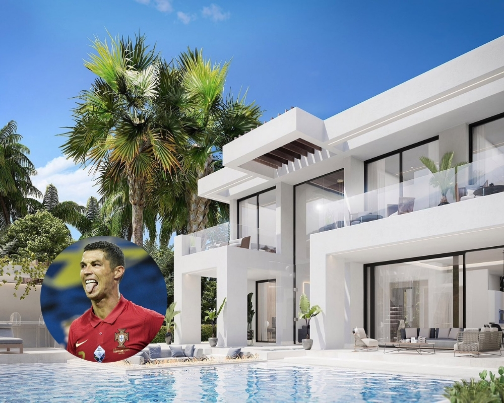 Cristiano Ronaldo reportedly invested in a $2.3 million home during the pandemic