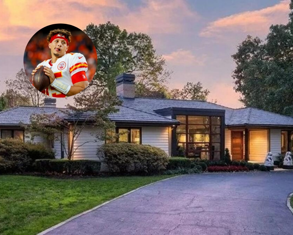 Patrick Mahomes recently invested in a $2 million mansion