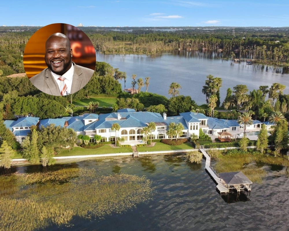 Shaquille O'Neal is still trying to sell his impressive Florida mansion