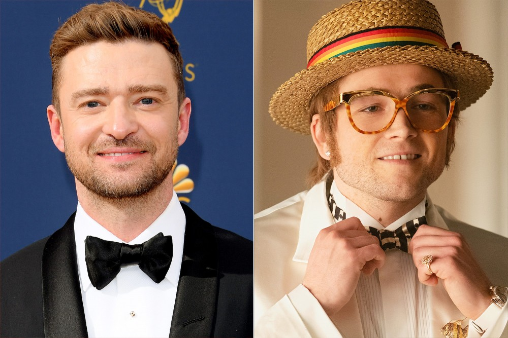 Justin Timberlake was in line to play Elton John since 2001
