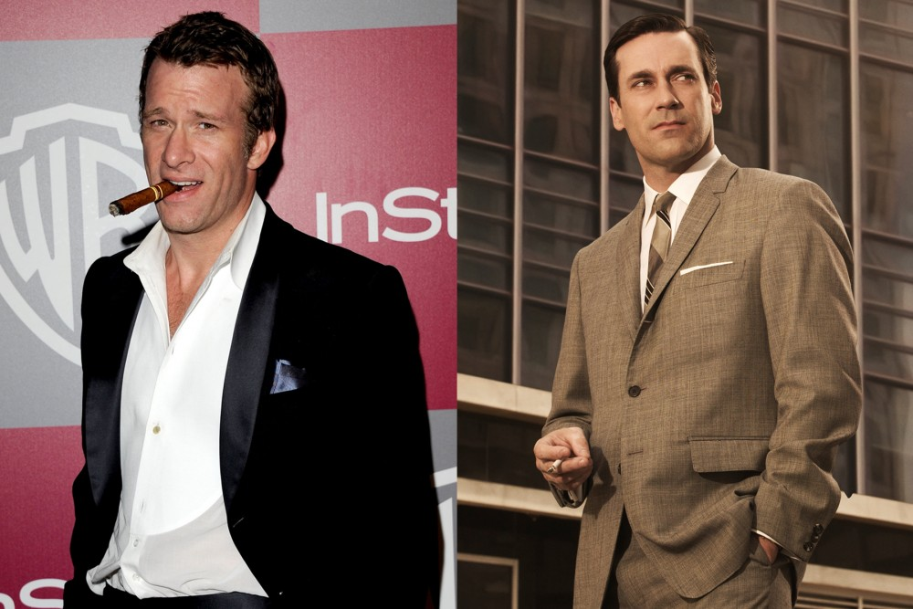 Thomas Jane was always on the producers' minds for Don in Mad Men