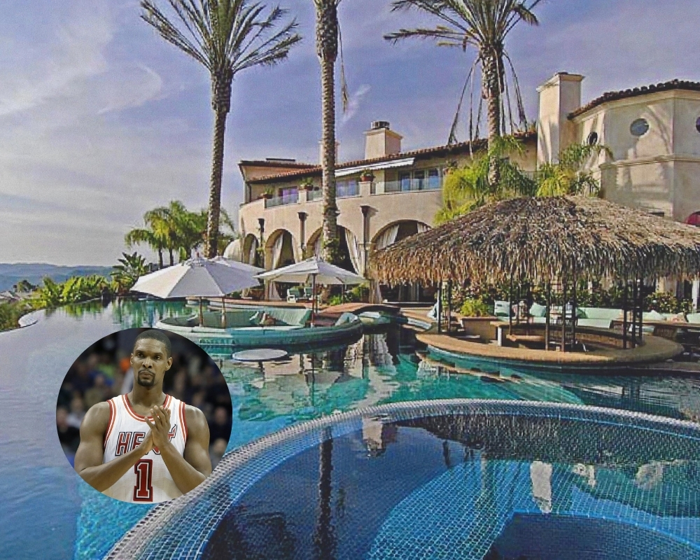 Chris Bosh's lavish mansion had just about everything you could imagine