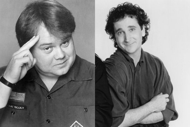 Louie Anderson was Cousin Lou in the original Perfect Strangers