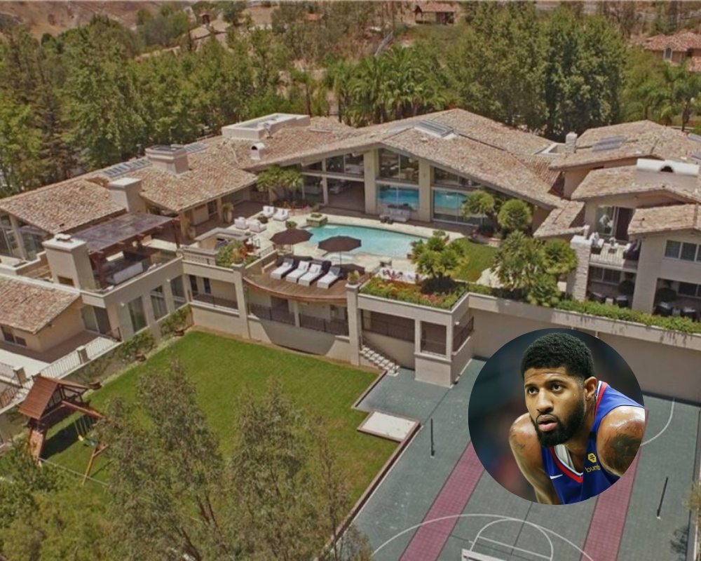 Paul George has invested in a fellow basketball star's former mansion