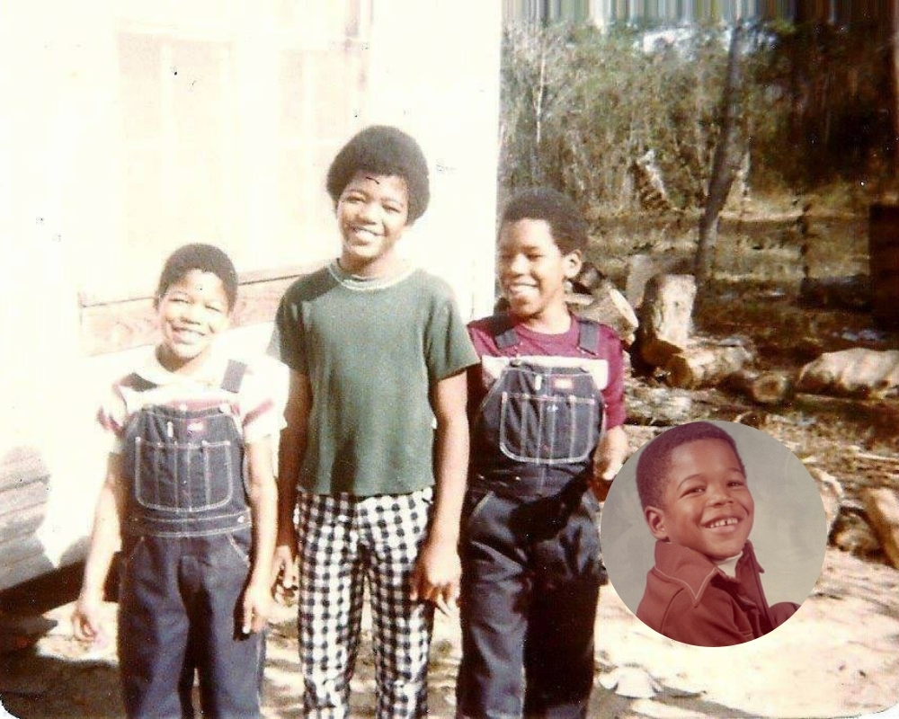 Micheal Strahan lived across the world throughout his childhood