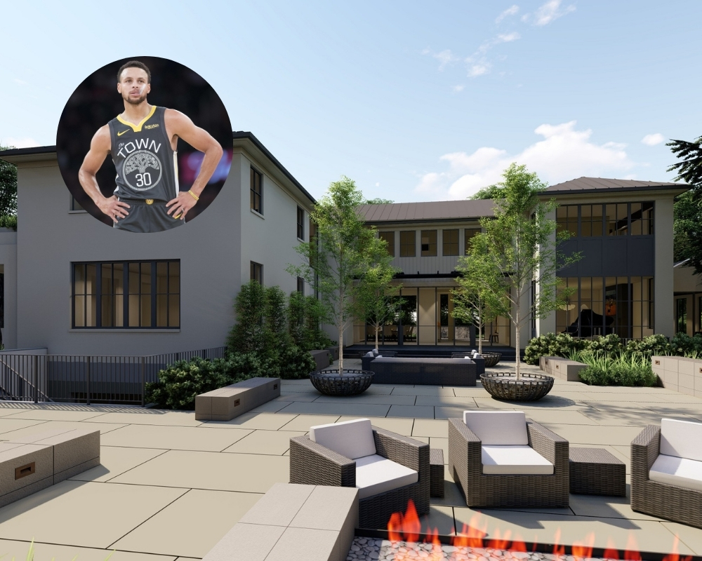 Stephen Curry lives in the wealthiest zip code in the US