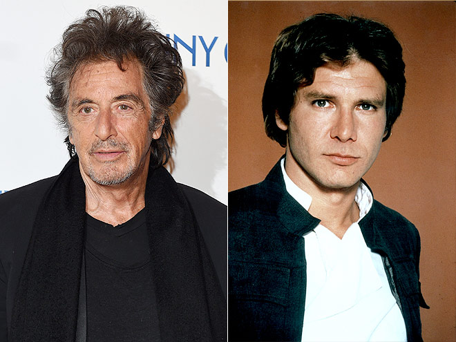 Al Pacino was the first one on the list to play Han Solo