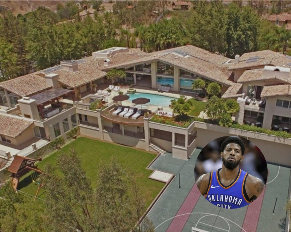 Paul George has his house on the market for $9.5 million