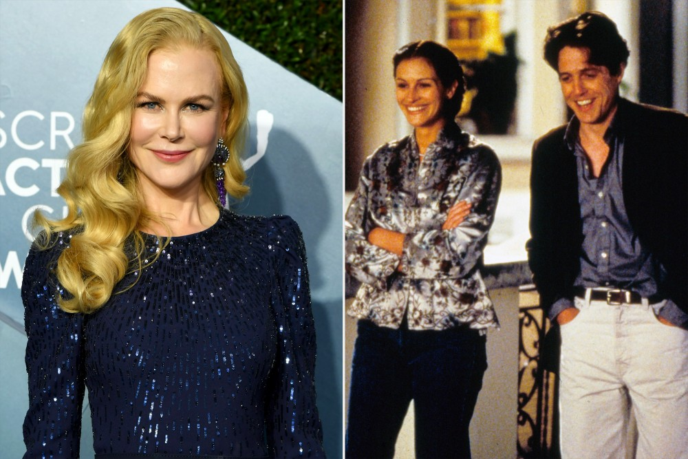 Nicole Kidman missed out on Notting Hill thanks to Julia Roberts