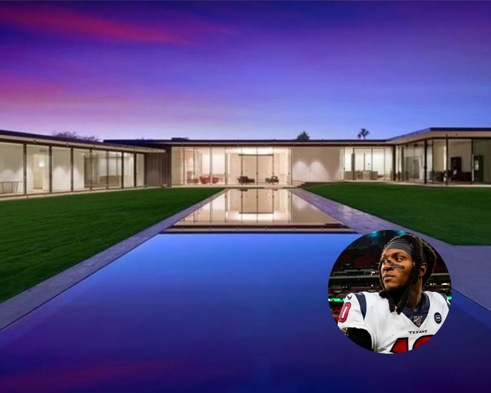 DeAndre Hopkins forked out a whopping $5.1 million on his new mansion
