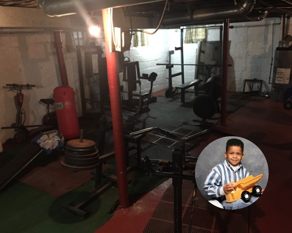 Aaron Donald spent years working out in the basement of his childhood home