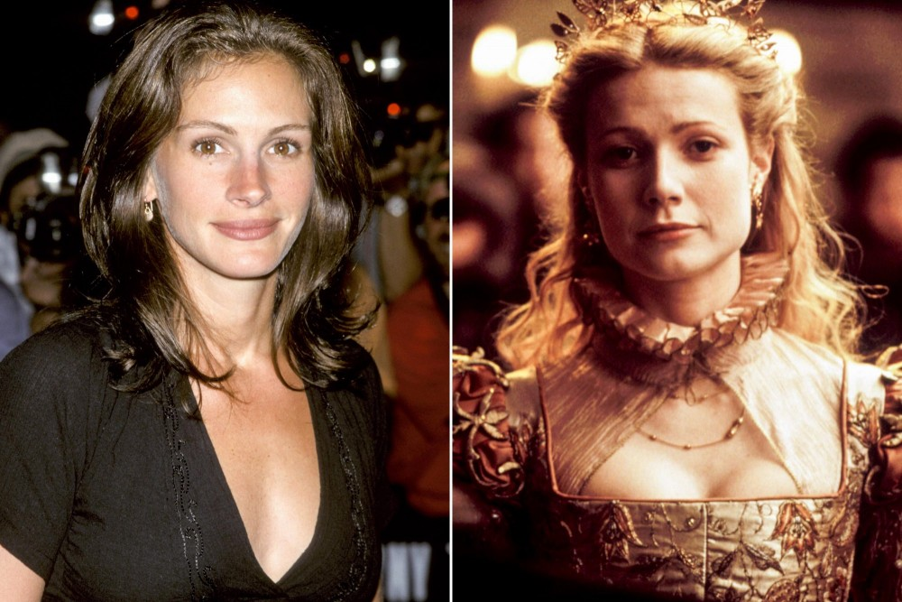 Julia Roberts agreed to play Viola de Lesseps, but things fell apart