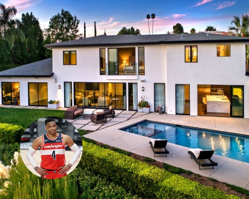 Russell Westbrook recently sold his 90210 luxury mansion