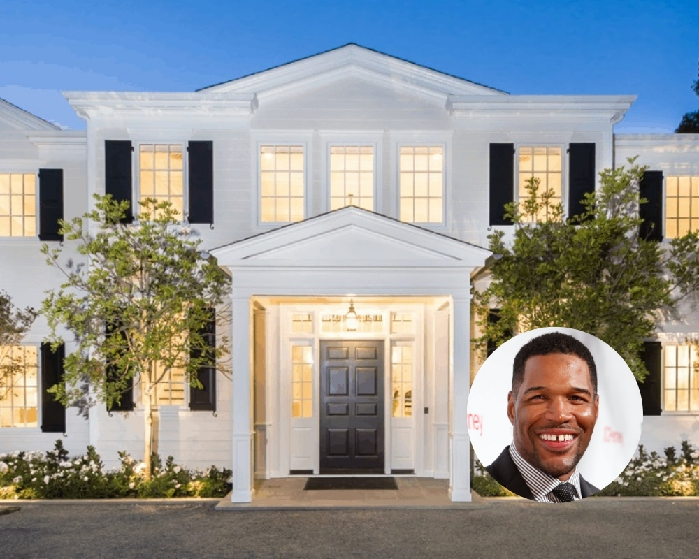 Mike Strahan has one of the sleekest mansions of any athlete