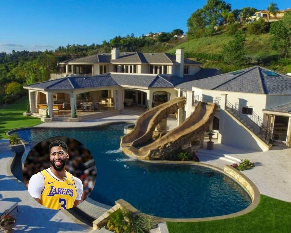 Anthony Davis' recent deal means he can splash out on his mansion